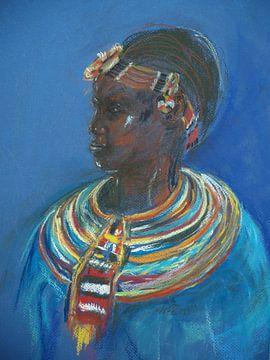 Kleurrijk versierd. van Ineke de Rijk