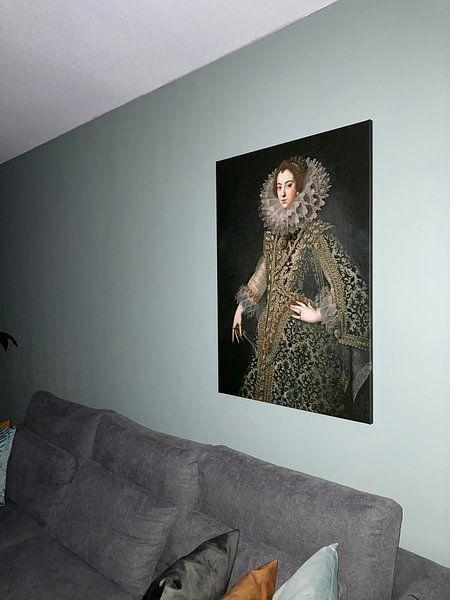 Kundenfoto: Königin Elizabeth von Bourbon