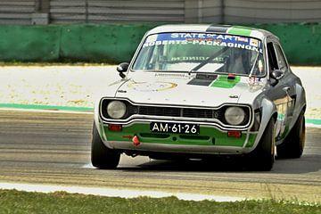 Ford Escort circuit Assen in drift von Roald Rakers