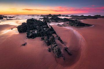 Gezeitensteine (Praia de Castelejo / Algarve) von Dirk Wiemer