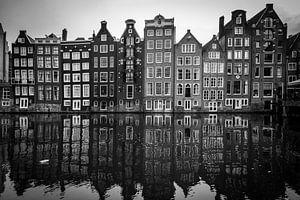 Kanalhäuser in Amsterdam von Heleen Pennings
