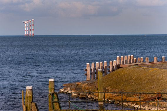Windmills at Sea van Brian Morgan