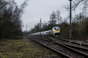 Abandoned Eurostar-trainset