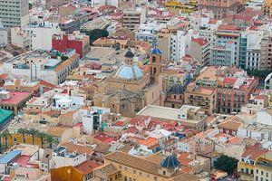 Kleurrijk centrum van Alicante van