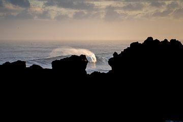 Golf breekt met zonsopkomst sur Tomas Grootveld