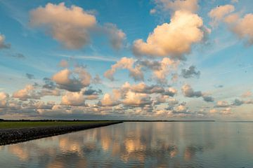 Wattenmeer am Abend von Arie Jan van Termeij