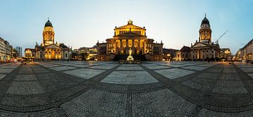 Panorama du Gendarmenmarkt de Berlin
