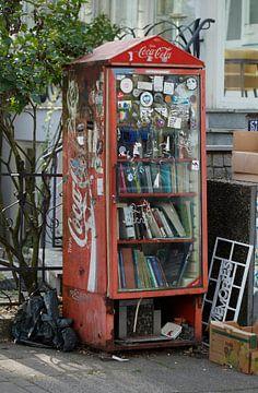 Walk-in openbare boekenkast, Bremen, Duitsland, Europa van Torsten Krüger