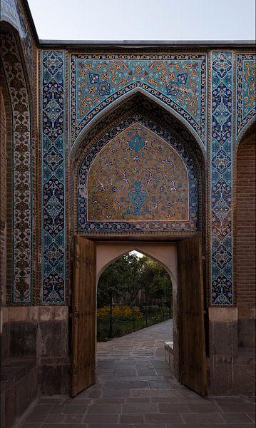 Iran: Khānegāh en heiligdom van sjeik Safi al-Din (Ardabil) van Maarten Verhees