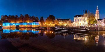 De haven van Breda van