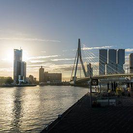 Rotterdam bij zonsopgang van Ricardo Bouman   Fotografie