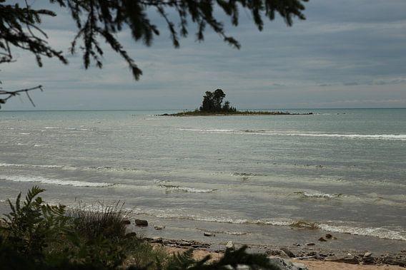 Michigan Lake Huron paradijs