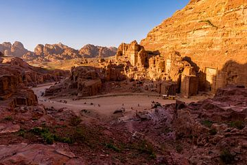 Petra - Jordanië von Jack Koning