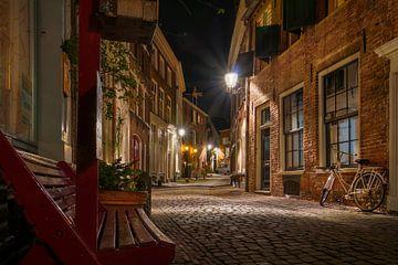 Deventer Stad bij nacht van Martin Podt