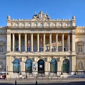 The Palais de la Bourse in Marseille von Panorama Streetline