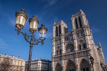 Kathedraal Notre Dame de Paris, Frankrijk van Christian Müringer