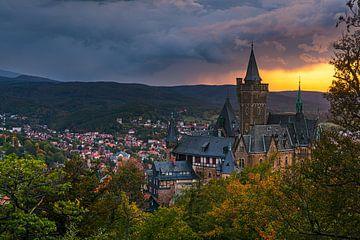 Château de Wernigerode, Saxe-Anhalt, Allemagne sur Henk Meijer Photography