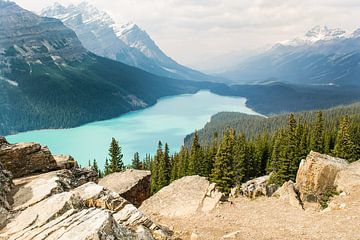 Peyto Lake, Canada van Claudia Esveldt