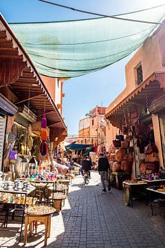 Winkels in Marrakesh