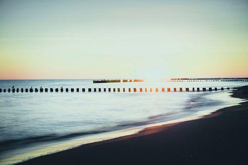 Baltische Zee van Leon Daniels