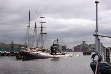 Onderzeeboot in de Haven