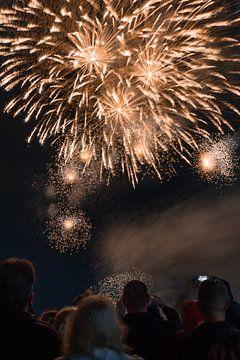 Das Feuerwerksfest in Scheveningen von Michael Fousert