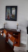 Kundenfoto: Harmonie im Raum von Gertrud Scheffler, auf leinwand