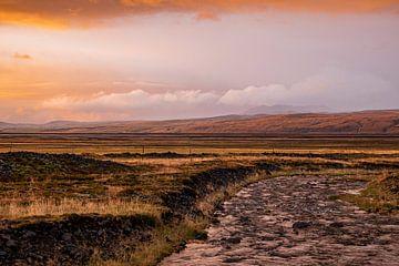 Sonnenuntergang Island von leon brouwer