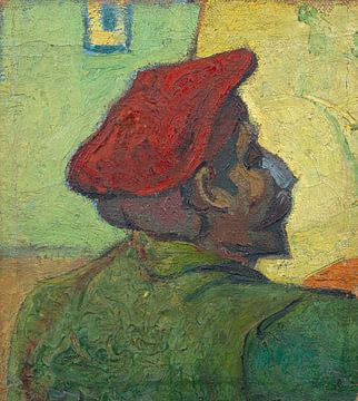 Paul Gauguin (Mens in een rode baret), Vincent van Gogh