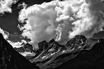 Lucht boven Saint Moiry von Matthieu Hilckmann