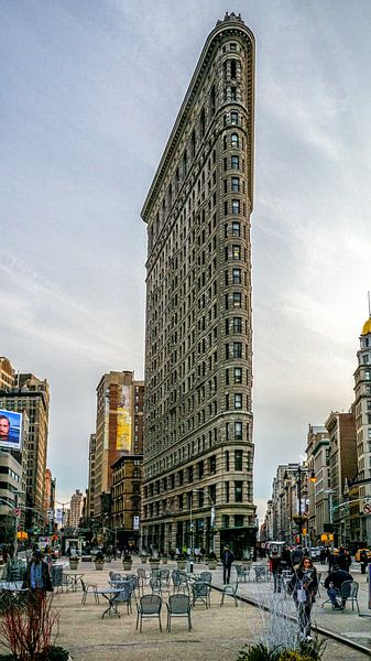 Flatiron Building in New York City van Jasper den Boer