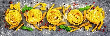 Variation von verschiedenen Pastasorten von Uwe Merkel