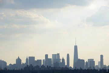 Manhattan Skyline in New York von Merijn van der Vliet