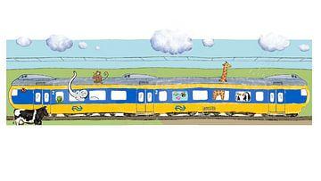 Dagkaart vrij reizen voor dieren von Jet Botman