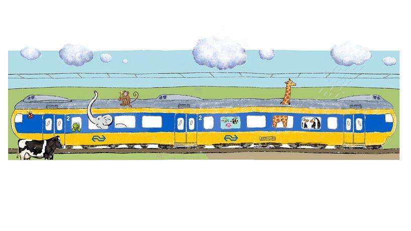 Dagkaart vrij reizen voor dieren van Jet Botman