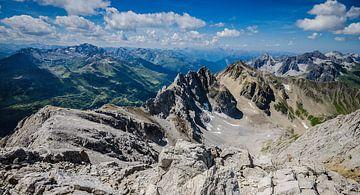 Bergtoppen in Oostenrijk van Erik Borst