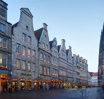 Prinzipalmarkt, kerstmarkt, Münster van Torsten Krüger