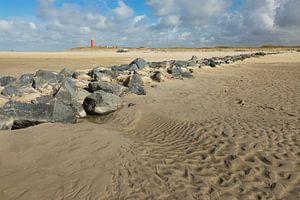 Boulders on the beach. sur Nicole van As
