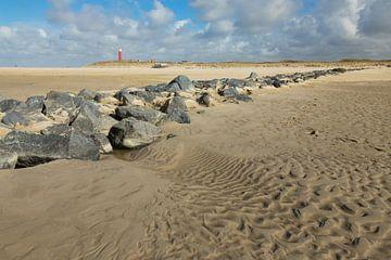 Keien op het strand. von Nicole van As