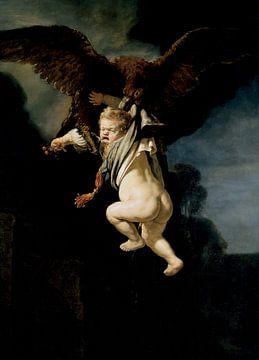 Die Entführung des Ganymed, Rembrandt van Rijn