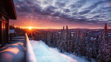Sonnenaufgang Schweden von jody ferron