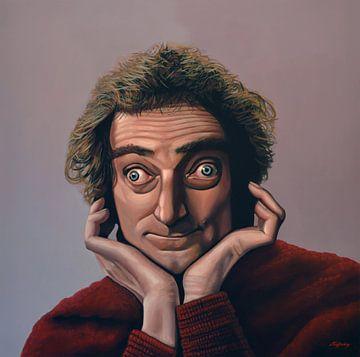 Marty Feldman Schilderij von Paul Meijering