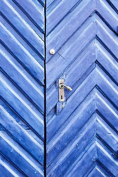 Tür eines historischen Gebäudes in der dänischen Hauptstadt Kopenhagen
