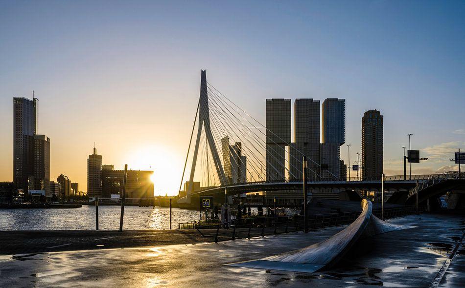 Waking up in Rotterdam van Ricardo Bouman | Fotografie