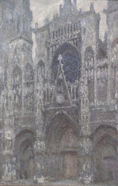 Claude Monet. Kathedraal van Rouen, 1894 van 1000 Schilderijen