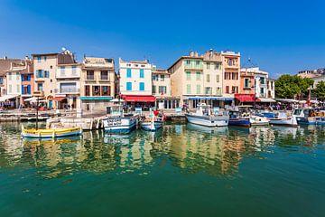Cassis an der Côte d'Azur in Frankreich von Werner Dieterich