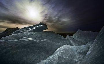 Kruiend ijs von Harrie Muis