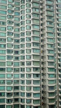 Residential tower on Lantau Island, near Hongkong van Fleur Halkema