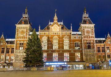 Centraal Station Amsterdam van Dennis van de Water