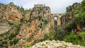 Die Brücke von Ronda, Spanien von Jessica Lokker